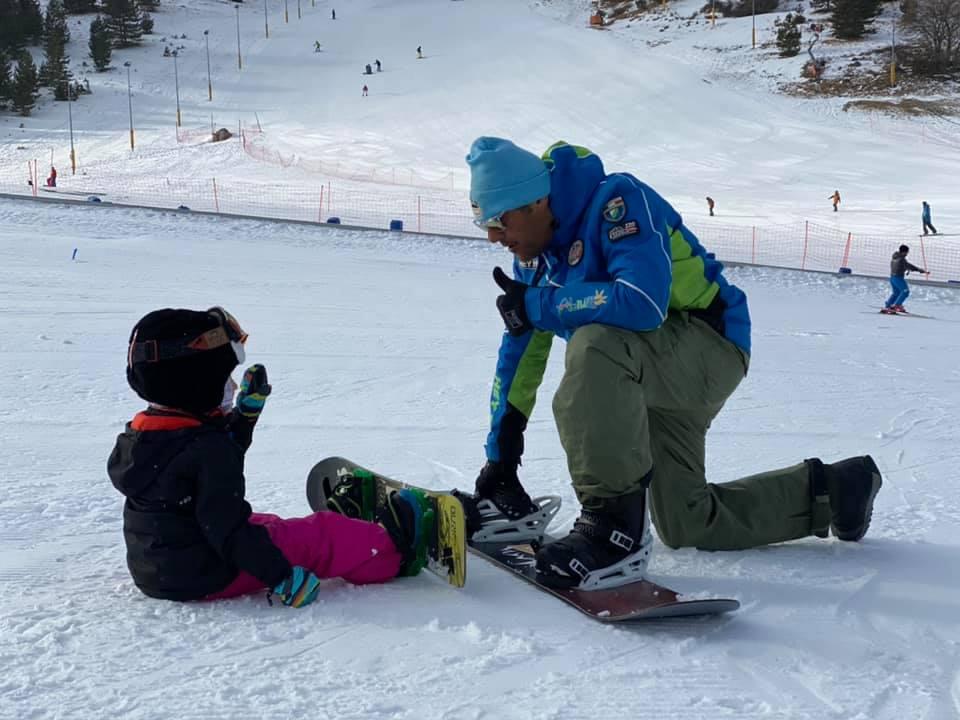 Snowboard e Bambini: l'insegnamento parte da 4/5 anni