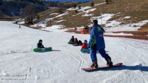 Snowboard | Lezione per bambini di 5/6 anni